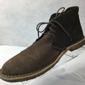 Ben Sherman NU Casual Chukka Boots Sz 11 Brown